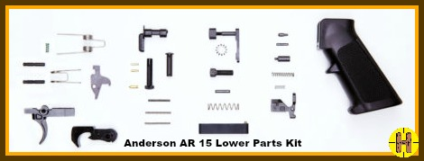 Anderson AR15 Lower Parts Kitop