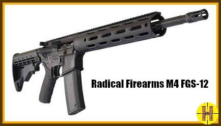 Radical Firearms M4 FGS-12op