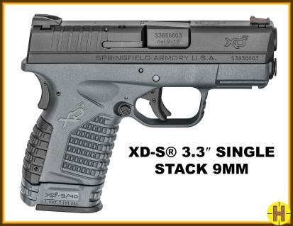 SA XD-S3.3 9mmho