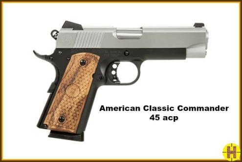 Ammerican Classic Commander 45ACP Rht HO