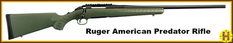 Ruger rifle predatorho