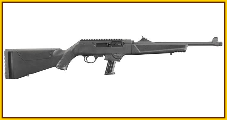 ruger PC carbine 9mm rtHO