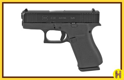 Glock 43XHOBlk